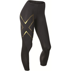 2XU Elite MCS Compression Tights Women Black/Gold logo